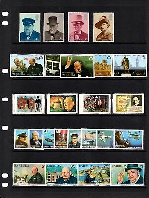 1974 Churchill Centenary Collection - 32 sets all um