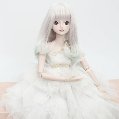 DIY Wavy Curly Hair Wig Heat Safe for for 1/3 BJD SD DZ DOD LUTS Doll DIY Making