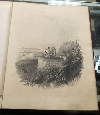 Johnson's New Illustrated Family Atlas Of The World 1865 all pages