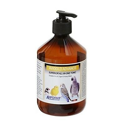 Aviform AVIGOLD ADVANCE All-in-One Liquid Cage Aviary Bird Tonic 250ml Genuine