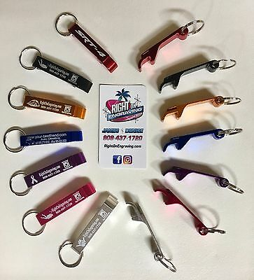 CUSTOM ENGRAVED KEY CHAIN BOTTLE OPENERS Sports, Teams, Logos, Names, Nicknames