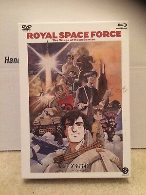 ROYAL SPACE FORCE: The Wings Of Honneamise Blu-ray + DVD Combo