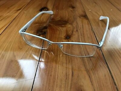 RayBan White Framed Prescription Glasses 50.20.142