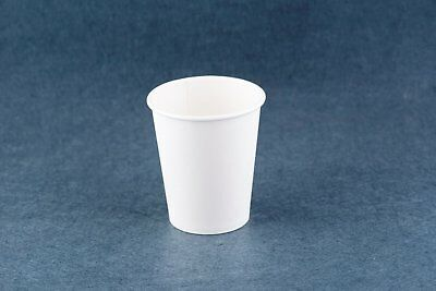 Disposable 1000pcs Single wall 8 / 9 oz Take Away Coffee Craft Cups