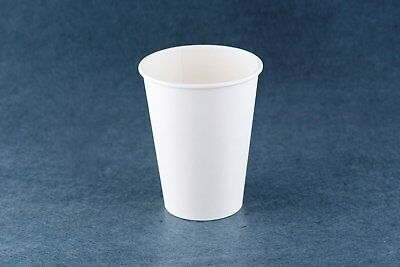 Disposable 1000pcs Single wall 12 oz Take Away Coffee Craft Cups