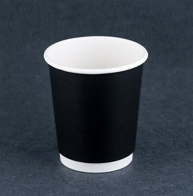 Disposable 500pcs Double wall  8oz Take Away Coffee Cups