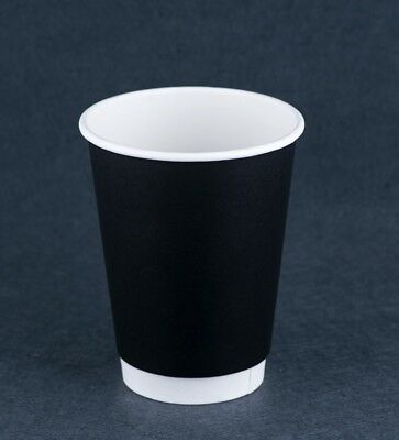 Disposable 500pcs Double wall  12oz Take Away Coffee Cups