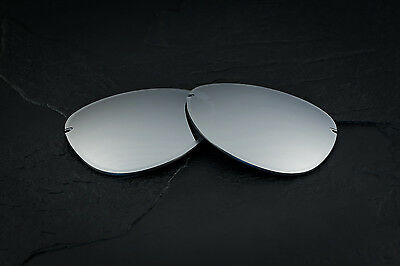 New Oakley Tailpin Chrome Iridium Lenses Set Genuine Original Pair -  Grey Tint