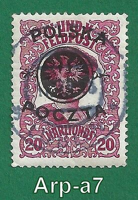 (PL-2) Poland stamps Used 1918 First Lublin Issue