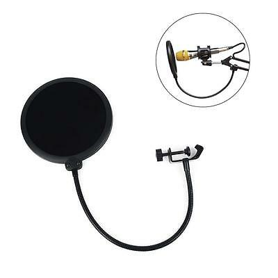 Double Layer Record Studio Microphone Mic Wind Screen Pop Filter Mask Shield GY