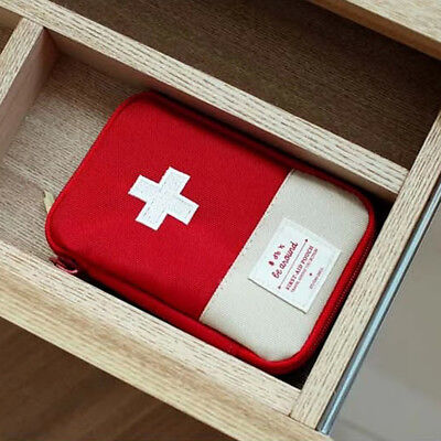 Mini Outdoor Travel First Aid Kit Bag House Small Medical Box Emergency Survival