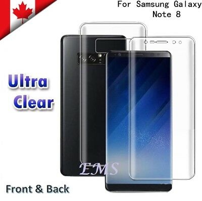 3x Full Coverage 3D Film Screen Protector For Samsung Galaxy Note 8