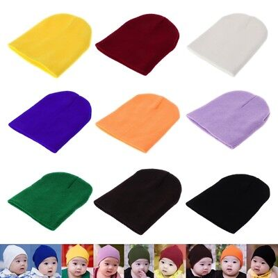 Baby Hat Cute Keep Warm Knitted Cap Winter Spring Cold For Children Kid Infants