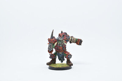 Blood Bowl Ork Starplayer painted