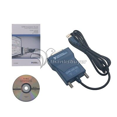 National Instrumens Interface Card Adapter Controller IEEE NI GPIB-USB-HS
