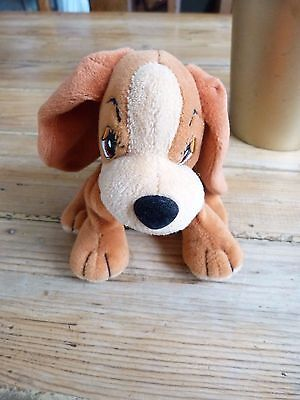 Disney Lady & The Tramp - Promotional Lady Beanie Baby /  Soft Toy - approx 17cm