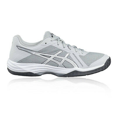 Asics Gel-Tactic 2 Womens Grey Silver Tennis Court Shoes Trainers Pumps