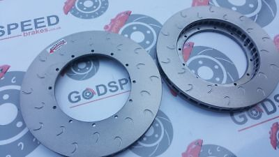 """Godspeed 330mm x 28mm AP type replacement discs """"G Hook"""" Or """"6 Curved Grooved"""""""