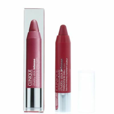 Clinique Chubby Stick Intense Moisturizing Lip Colour Balm 1.2g - Roomiest Rose