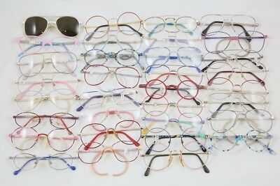 Vintage Lot Of 33 Eyeglasses For Kids New Old Stock!!