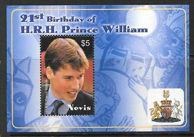 NEVIS SGMS1804 2003 21st BIRTHDAY OF PRINCE WILLIAM MNH