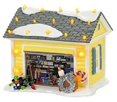 Department 56 - The Griswold Holiday Garage Collection Accessory Ceramic Lite