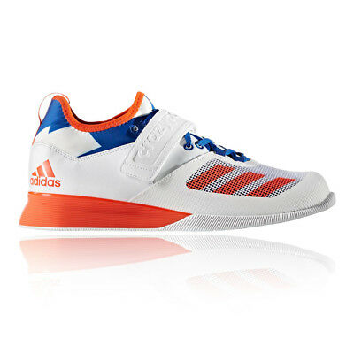 Adidas Crazy Power Mens Orange White Weightlifting Sports Shoes Trainers