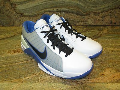 2009 Nike Hyperdunk Low Sample SZ 9 Duke Blue Devil PE White Black  386424-101