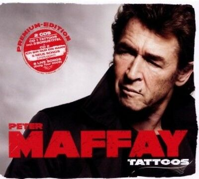 Peter Maffay Tattoos Premium Edition 2Cd Neu & Ovp (Greatest Hits - Best Of)