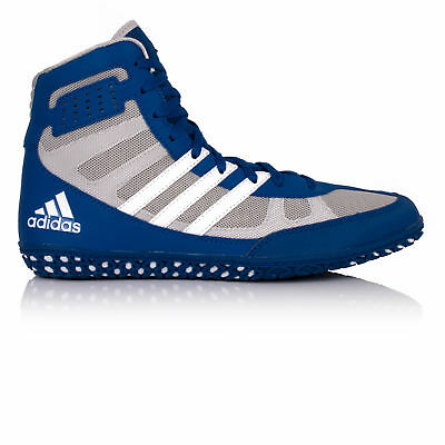 sneakers for cheap 15ae6 d9883 Adidas Mat Wizard 3 Mens Grey Blue Outdoors Wrestling Shoes Boots