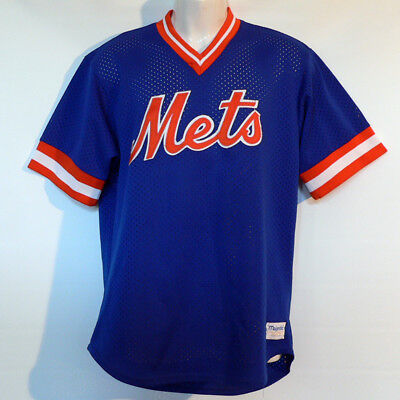 New York Mets Trikot / Jersey - MLB Baseball - NY Mets - Majestic - Top Zustand