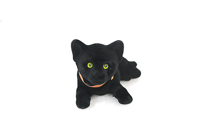 Mysterious Bobblehead Black Cat with Car Dashboard Adhesive