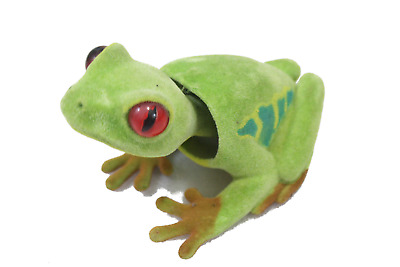 Sensitive Bobblehead Frog with Auto Dashboard Adhesive by Batty Bargains