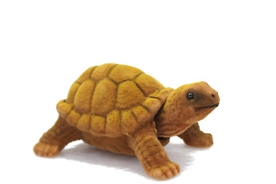 Amazing Bobblehead Turtle with Car Dashboard Adhesive (Brown)