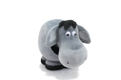 Gloomy Bobblehead Donkey with Auto Dashboard Adhesive