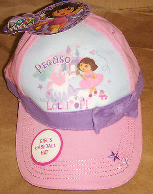 Dora The Explorer Girls Baseball Hat Free Shipping New