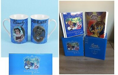 LOW STOCK !!! Disney Beauty and the Beast Money Boxes or Mug Set - 3 Designs