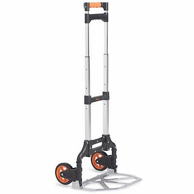 VonHaus Folding Hand Truck Lightweight Aluminium Alloy Heavy Duty Sack Cart 70kg