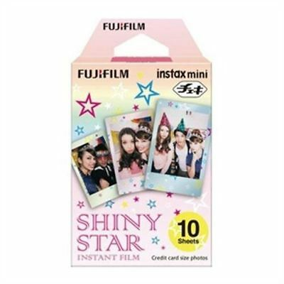 FujiFilm Fuji Instax Mini Shiny Star Film Pack of 10
