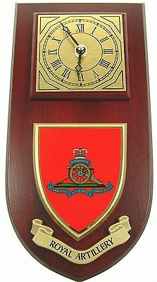 Ra Royal Regiment Of Artillery Classic Hand Made To Order  Wall Clock
