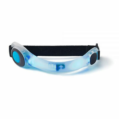 Ultimate Performance Mens Womens White Blue Flamborough Led Hi Fiz Armband New