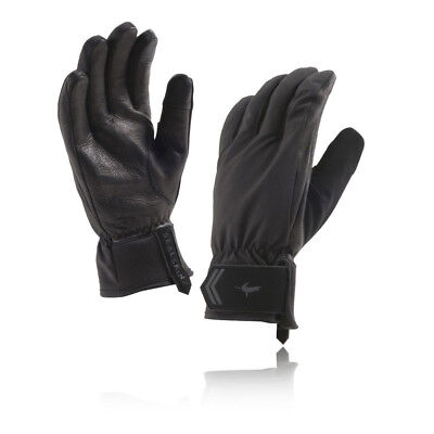 SealSkinz All Season Mens Black Waterproof Windproof Running Sports Gloves