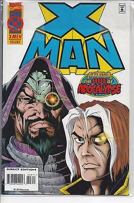 Marvel X-Men Deluxe Ed May 3 After Xavier: The Age of Apocalypse - SHIP FREE!