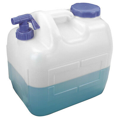 Highlander Large 23L Plastic Jerry Can Camp Tap Water Storage Hydration Carrier