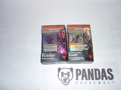 Magic the Gathering Aether Revolt Planeswalker Deck Ajani Tezzeret