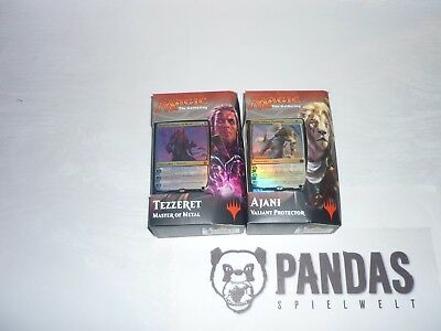 MtG Magic the Gathering Aether Revolt Planeswalker Deck Ajani Tezzeret