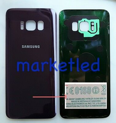 Other Cell Phone Accessories Fast Deliver Battery Cover Copri Batteria Samsung Galaxy S8 G950 G950f Orchid Gray Grigio