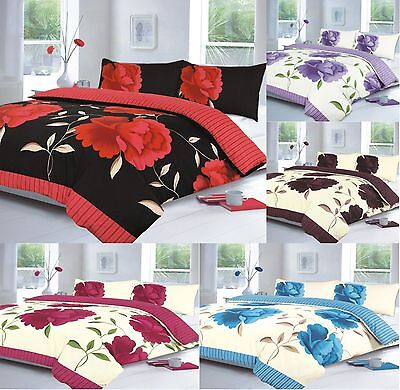 Luxury Modern Design Duvet / Quilt Cover Bedding Set with Pillowcases - All Size