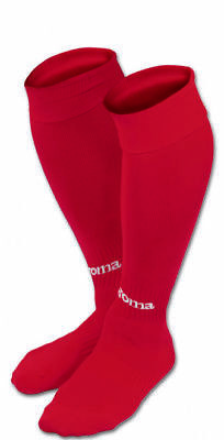JOMA CLASSIC II FOOTBALL SOCKS -Red - Large