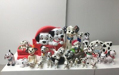 101 Dalmation Lot Of Toys Playset And Figures Disney Ornament Holiday Christmas